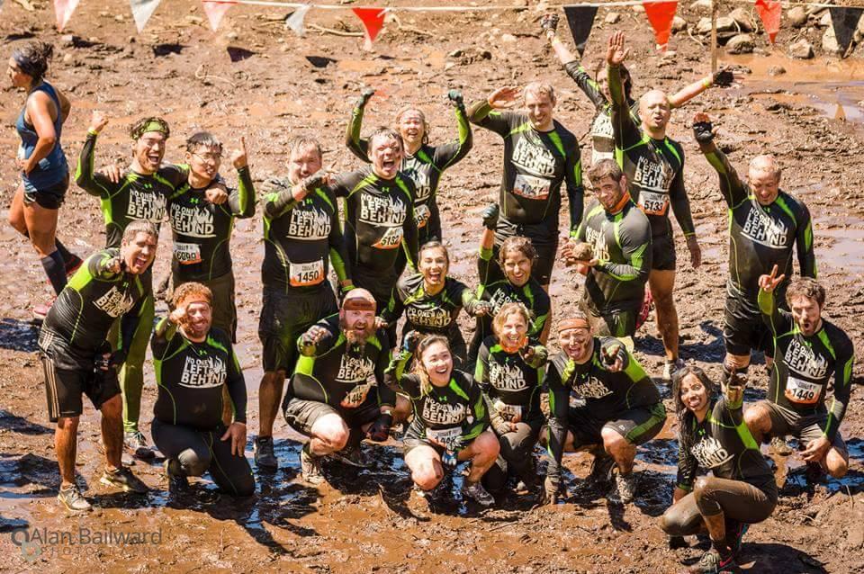 Tough Mudder team photo